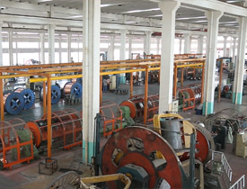 huadong cable workshop