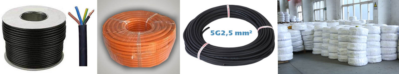 rubber fiber hybrid cable package