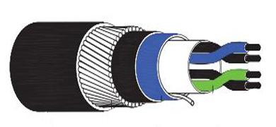 Armoured Overall Screen instrument Cable