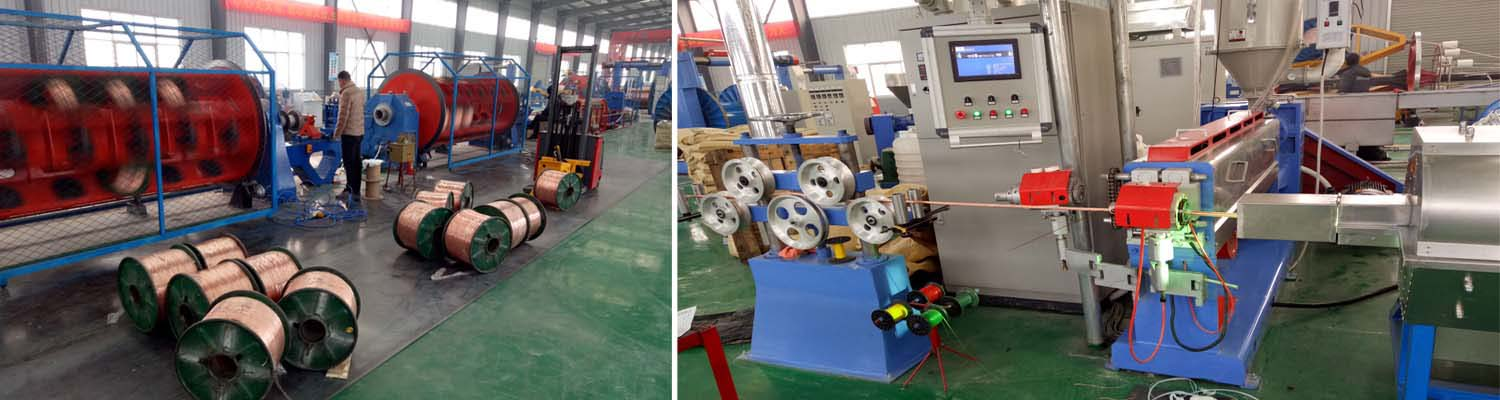 producing process and inspection froom control 4 core cable manufacturers - huadong