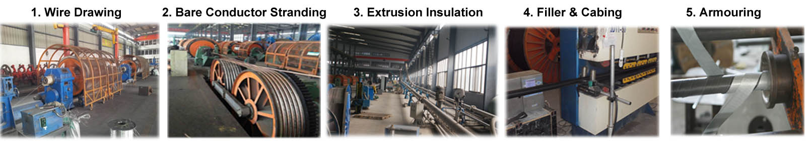 xlpe swa produce process