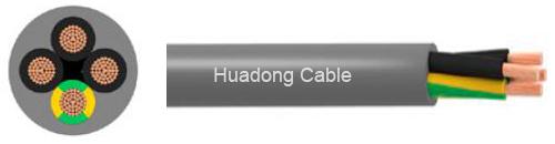 YY PVC Flexible control cable
