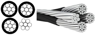 quadruplex cable